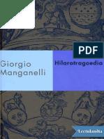 Hilarotragoedia - Giorgio Manganelli