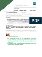 Química segundo medio Guía 5 Disoluciones químicas y sus propiedades