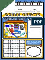 SCHOOL OBJECTS (3)