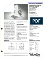Wide-Lite EG Series Hazardous Bulletin 1984