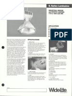 Wide-Lite IL Series Industrial Bulletin 1986