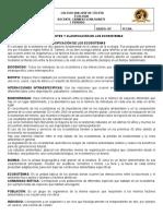 COMPONENTES Y CLASIFICACIÓN DE LOS ECOSISTEMAS