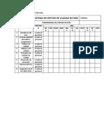 7.2 DESDE PROGRAMAS DE CAPACITACION