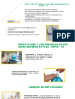 USO ADECUADO DE EPP COVID 19