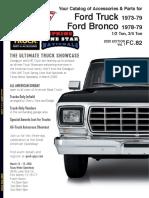 Catalog Complete Ford Ranger 77-79