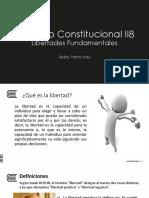 Constitucional II - Derecho a La Libertad