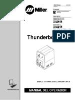 Manual del usuario Thunderbolt XL, Mille