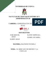 EL MERCADO DE BIENES Y LA CURVA IS.. final.docx