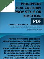 Politics involves the production, allocation and use