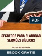 e-Book COMO ELABORAR SERMÕES BÍBLICOS