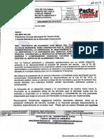 P.A Concesión Alumbrado Público Timaná