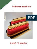mini libro de pasteles