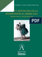 AA.VV. - Visiones y revisiones de la Independencia Americana. Subaldernidad e Independencias [2012]