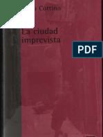 La Ciudad Imprevista-paolo Cottino