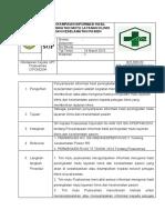 Sop Penyampaian Informasi Hasil Peningkatan Mutu Layanan Klinis Dan Keselamatan Pasien