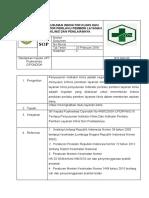 Sop Penyusunan Indikator Klinis Dan Indikator Perilaku Pemberi Layanan Klinis Dan Penilaiannya