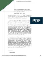 Pleno vs. Court of Appeals, 161 SCRA 208, May 09, 1988