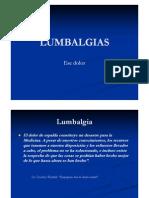 Lumbalgias (Dr. Adrian Llaquet)