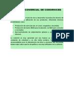 1 CRIANZA COMERCIAL DE CODORNICES