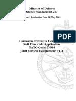 Ministry of Defence Defence Standard 80-217