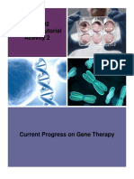 Assignment 2 - Gene Therapy