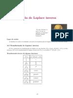 CTD SEM13 TRANSFORMADA INVERSA DE LAPLACE