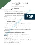 EKM Question Bank(COC Written)-1