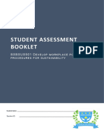 BSBSUS501 Student Assessment Booklet