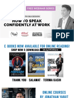 Jonathan Yabut - How To Speak Confidently At Work