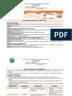 PLAN DE ÁREA GRADO SEXTO 1 PERIODO - LENGUA CASTELLANA
