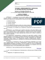 Ley de Adquisiciones, Suministros y Servicios