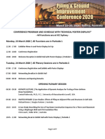 DFI-PFSF2020-Conference Program and Schedule