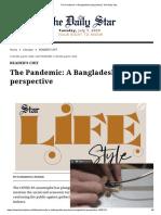 The Pandemic_ A Bangladeshi perspective