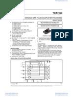 TDA7560A-PAL007A