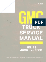 Gmc 4000 6500 Service Manual