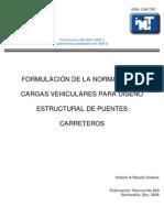 cargas vehiculares para el diseño estructural de puentes-pt243 - imt - mx