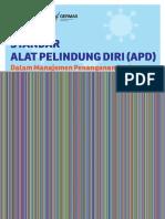 Standar APD dalam Manajemen Penanganan Covid19