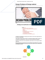 Design Problems & Design method · Quantity Surveyor blog