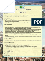 Appendix C - NLNG Alcohol & Drug Policy