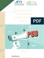 Législation et organisation publicitaire au Maroc