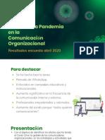Efectos de la Pandemia en la Comunicación Organizacional_052020
