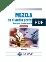 Mezcla en el audio profesional (NO COMPLETO)