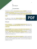 Clase 1 y 2. Escepticismo de Pirrón. Bibliografía y comentarios.
