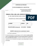 A.A. PLUVIOMETRO - TRABAJO 3 - PAUCAR SAENZ, jhosep paul