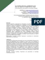 VOCABULÁRIO CONTROLADO PARA A REPRESENTAÇÃO DOCUMENTÁRIA EM ARQUIVOS CORRENTES DA UNESP
