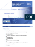 AIX 6.1 Performance Differences
