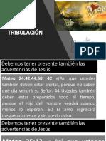 3. SABADO - LA TRIBULACIÓN