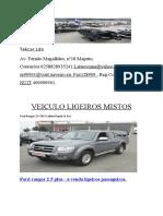 VEICULO LIGEIROS MISTOS  se90901