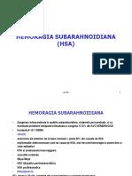 Hemoragia subarahnoidiana
