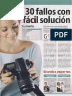 30 Fallos Comunes en Las Fotografias